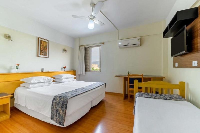 Hotel em Atibaia Itapetinga Quartos
