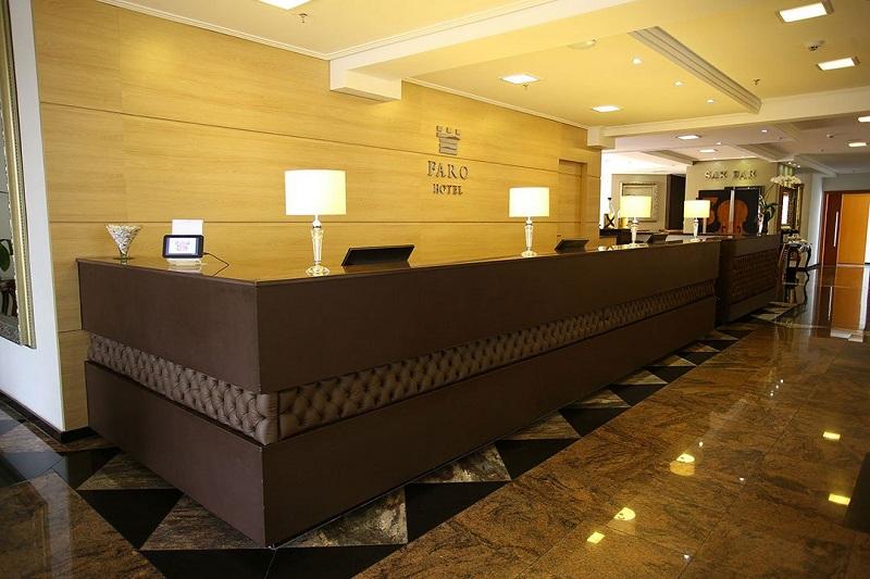 Hotel em Atibaia Recepcao